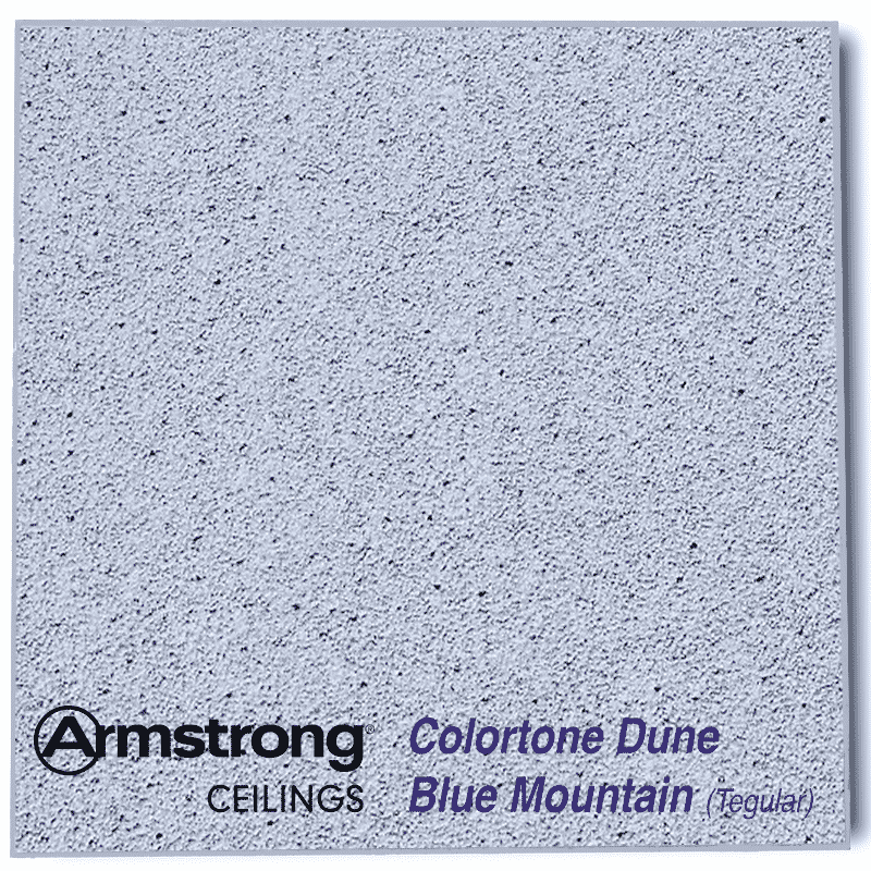Armstrong Ceiling Tiles Colortone Dune Evo Blue Mountain