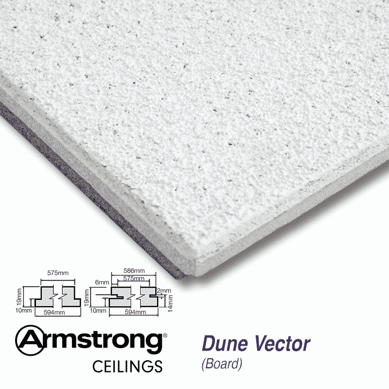 Armstrong Ceiling Tiles Dune Bp3321m 600 X 600mm