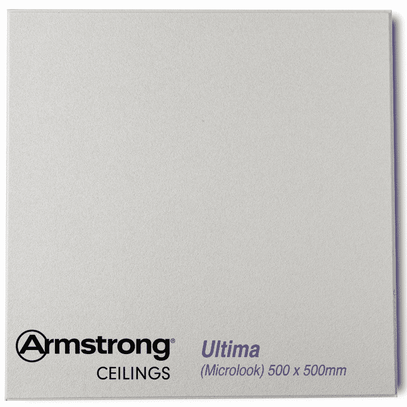 Armstrong Ultima Plus Microlook Bp7673m 500 X 500mm Reveal Edge 15mm Grid Ceiling Tiles