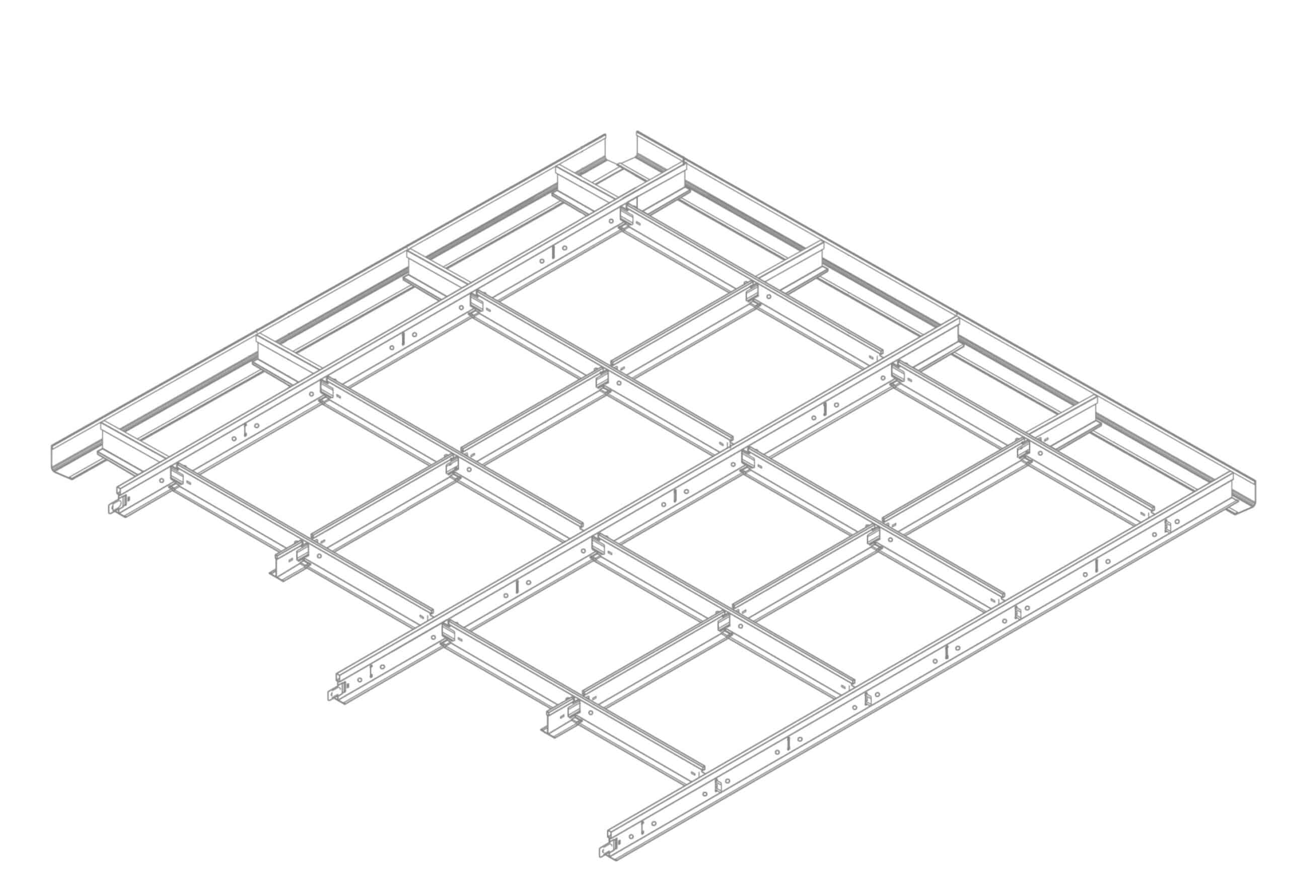 Suspended Ceiling Gridwork Kits