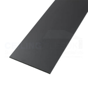 Black 100mm Laminate Skirting Section (3000mm)