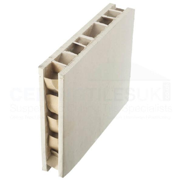 Europanel - Honeycomb Plasterboard Panel (1200 x 46mm)