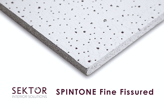 Sektor Spintone Fine Fissured Ceiling Tiles Ceiling Tiles Uk