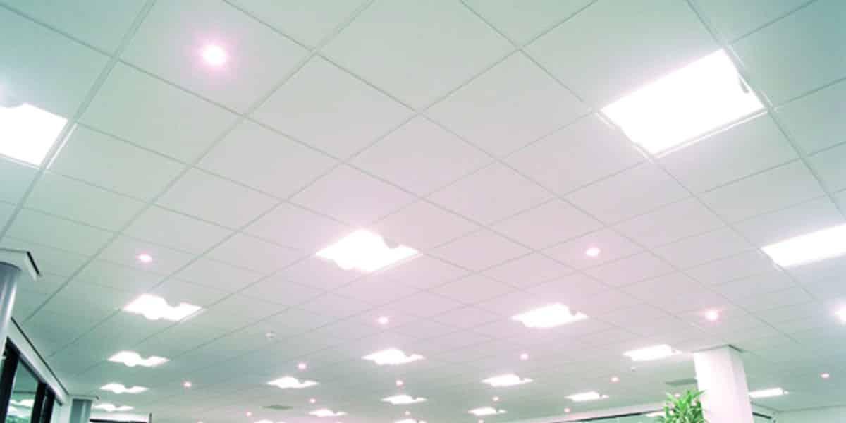 What Are Suspended Ceiling Tiles Made From Suspended