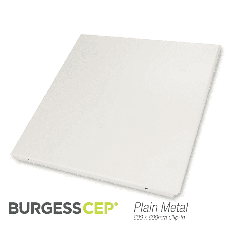 Burgess Clip In Metal Ceiling Tiles 600 X 600mm Tsp13