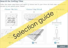Ceiling Tile Selection Guide