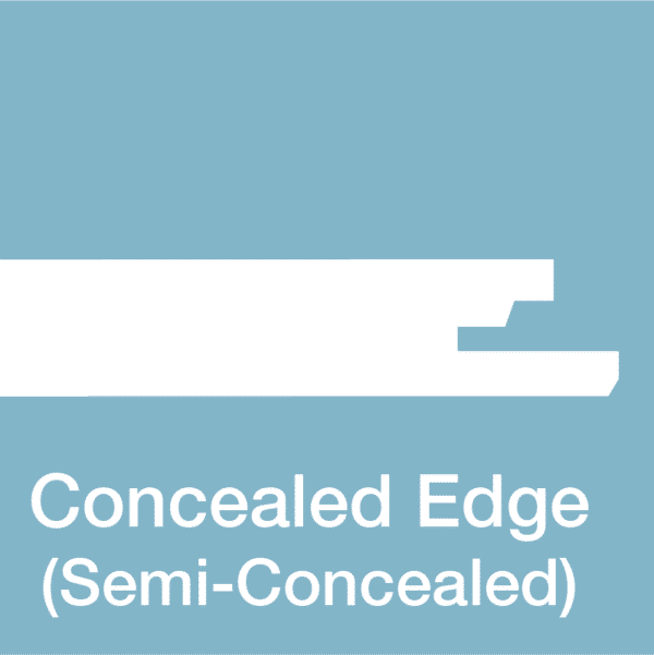 Concealed-Edge